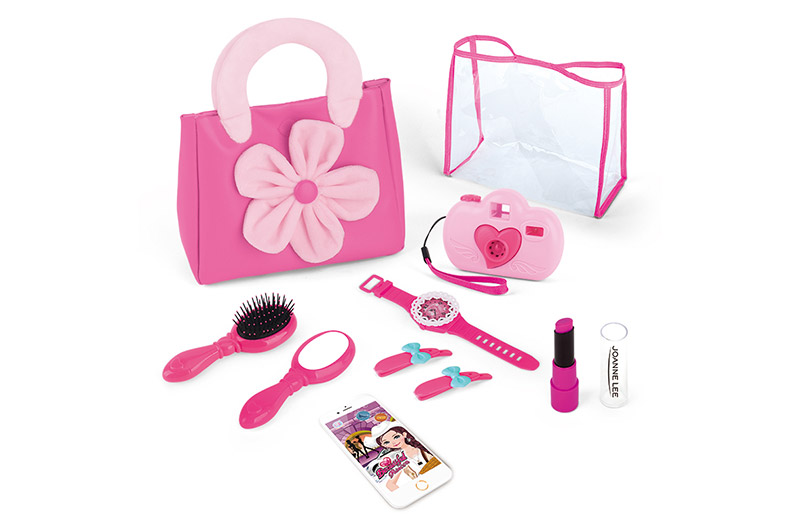 Pink Pretend Makeup Play Set