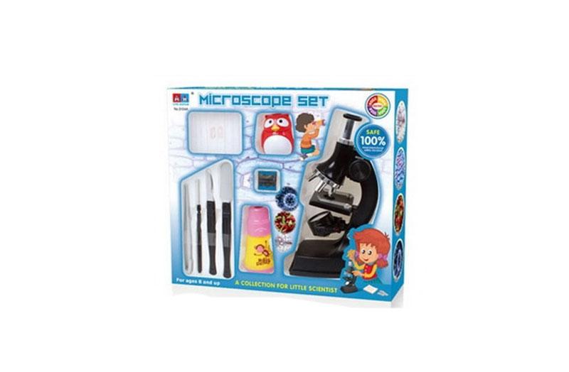 Microscope Kit 900X  With Lighting