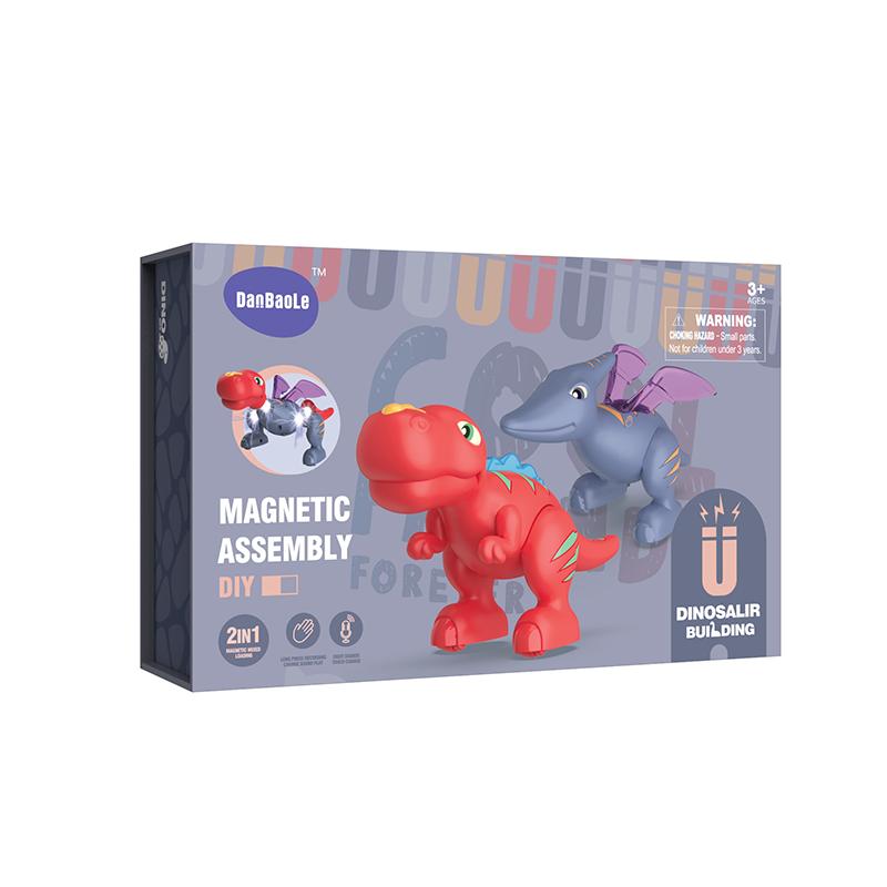 Make your own design DIY Magnetic Dinosaur Toys