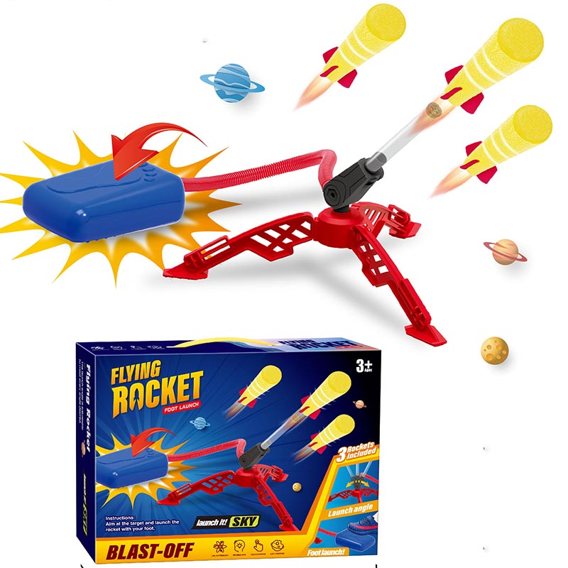Outdoor Rocket Launcher Toy