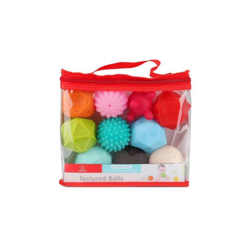 Textured Balls Set for Baby