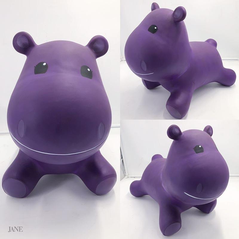 Inflatable Unicorn Hopping Toys