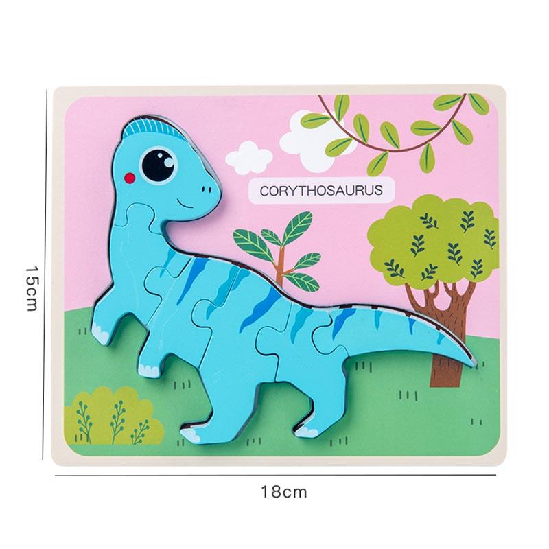 Dinosaur Wooden Puzzle