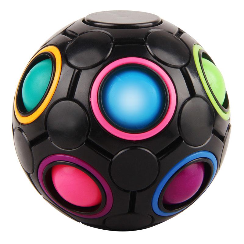 High Speed Fringer Rotation Rainbow Ball