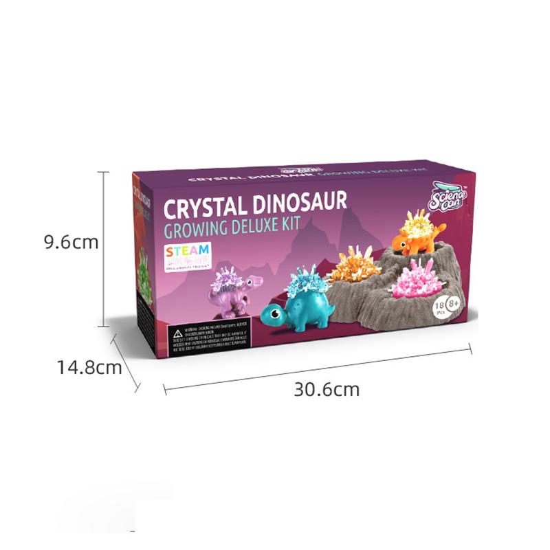 Dinosaur Crystal Growing Kit