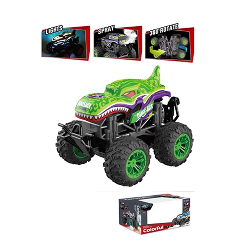 Remote Control Spray Dinosaur Car Toys