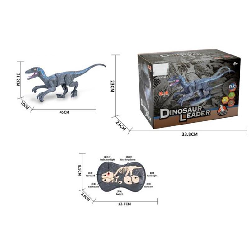 2.4Ghz Remote Control Walking Dinosaur Toys