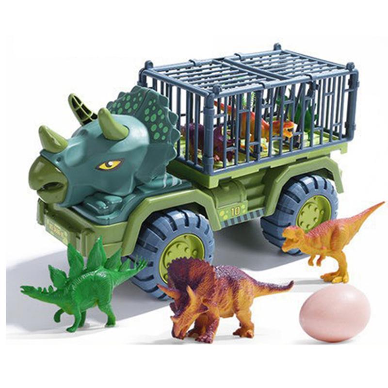 Dinosuar Transport Inertia Car