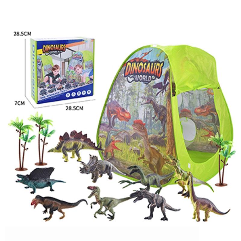 Indoor and Outdoor Dinosaur Kids Play Tent
