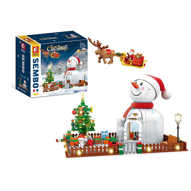 Christmas Theme Sembo Blocks